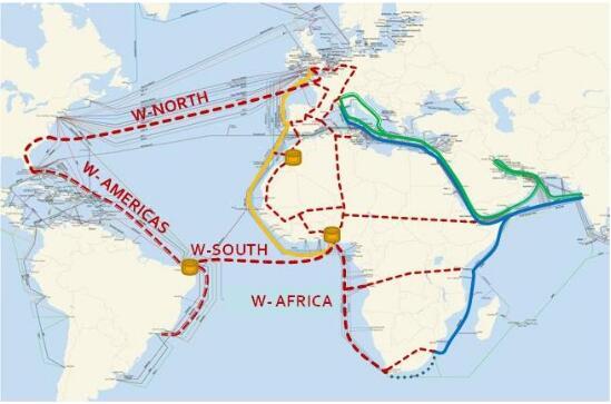 玻利维亚建海底光缆