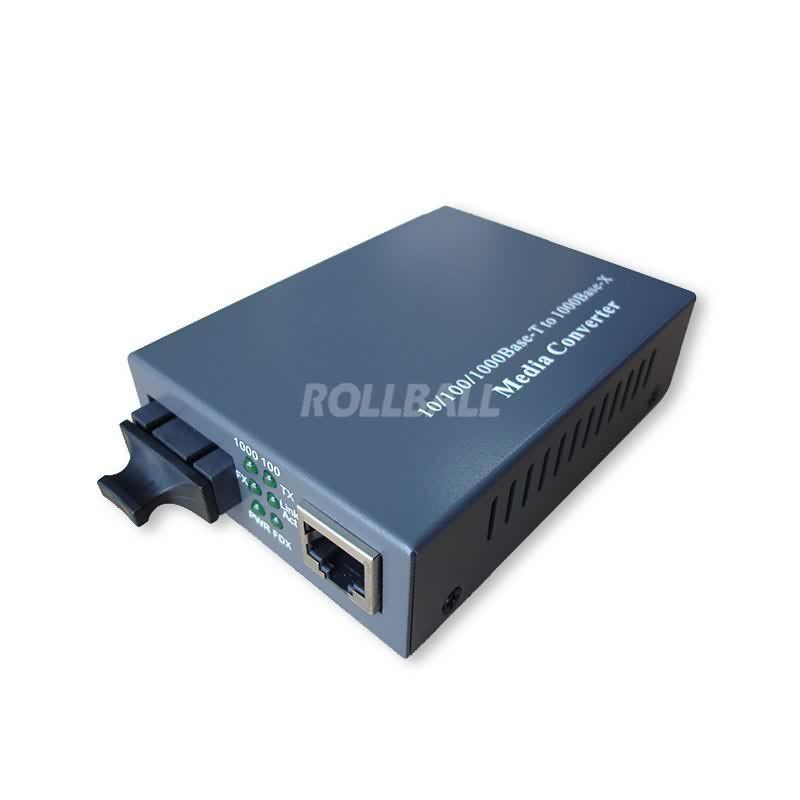1000M dual fiber media converter 1