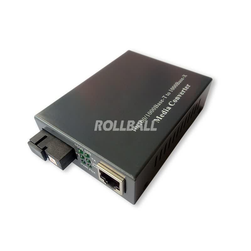 1000M single fiber media converter 1