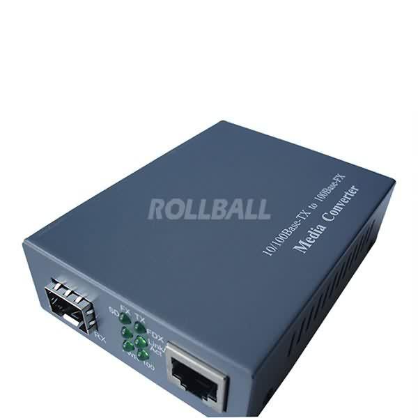 100M SFP media converter 1