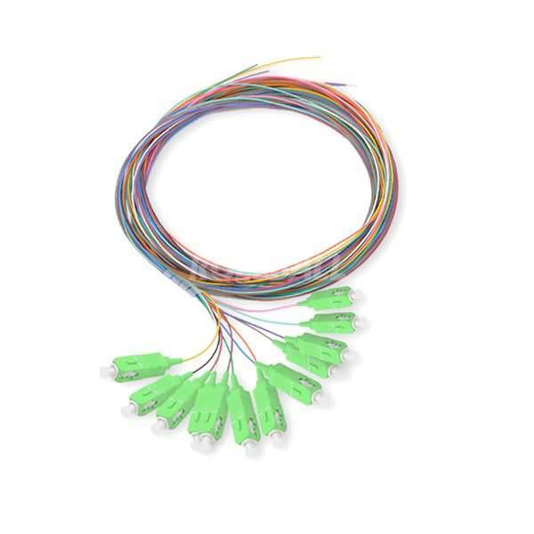 12-color sc apc sm pigtail