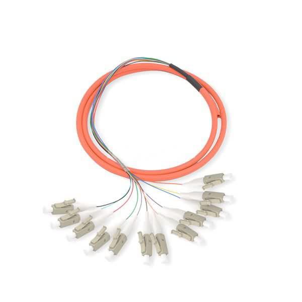 12 fiber lc om2 pigtail