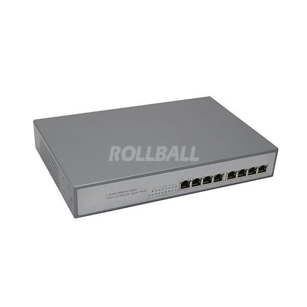 8 port 10-100-1000m poe switch