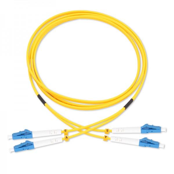 OS2 9/125 Single-mode fiber optic patch cords