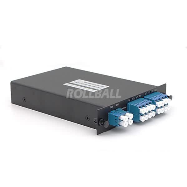 Dual Fiber DWDM Mux Demux LGX Box