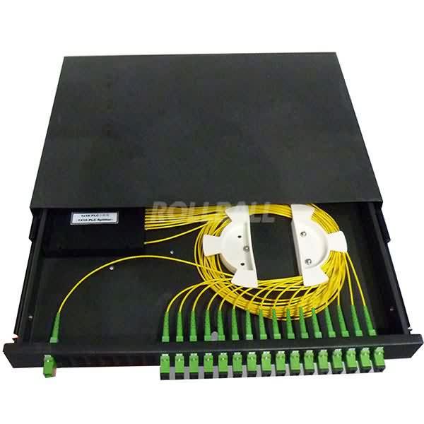 PLC Splitter - rack mount 4